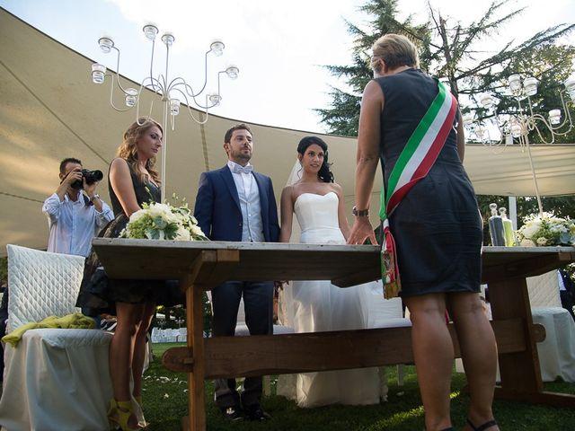 Il matrimonio di Luca e Amina a Coccaglio, Brescia 99