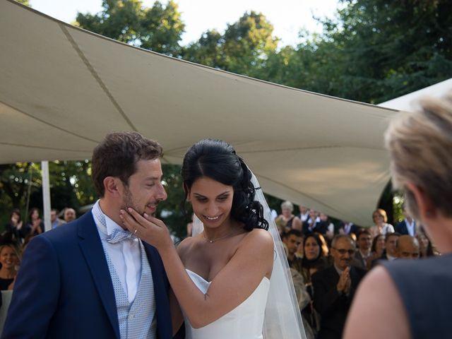 Il matrimonio di Luca e Amina a Coccaglio, Brescia 154