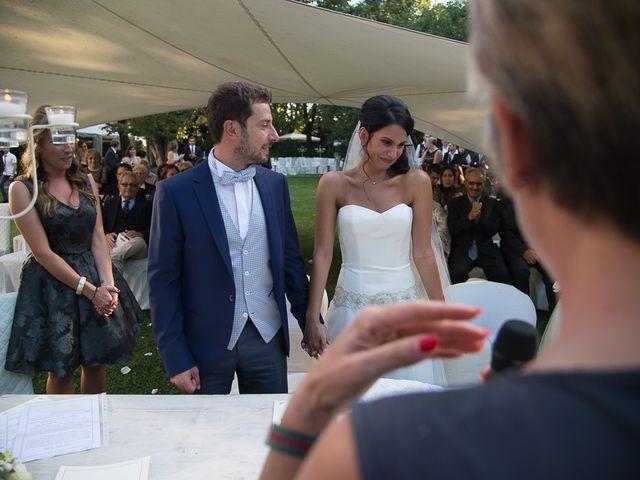 Il matrimonio di Luca e Amina a Coccaglio, Brescia 156