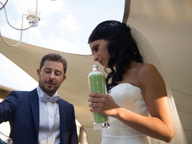 Il matrimonio di Luca e Amina a Coccaglio, Brescia 170
