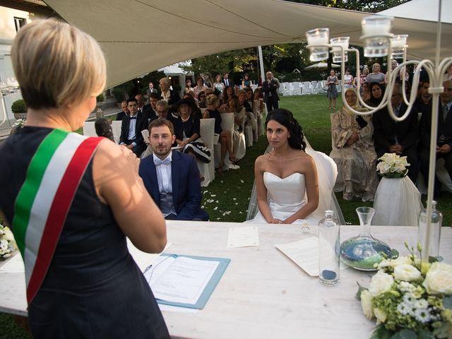 Il matrimonio di Luca e Amina a Coccaglio, Brescia 103