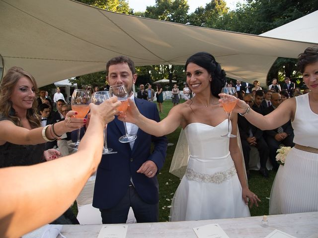 Il matrimonio di Luca e Amina a Coccaglio, Brescia 157