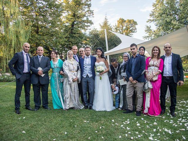 Il matrimonio di Luca e Amina a Coccaglio, Brescia 200