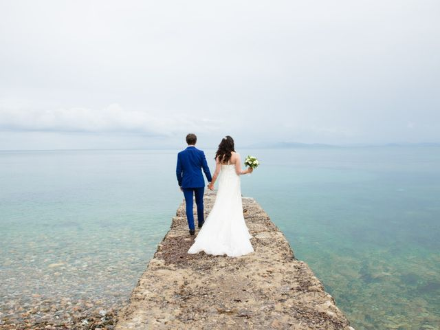 Il matrimonio di Luca e Stefania a Magliano in Toscana, Grosseto 1