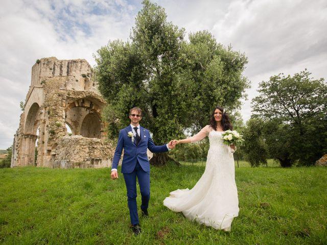 Il matrimonio di Luca e Stefania a Magliano in Toscana, Grosseto 7