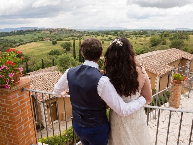 Il matrimonio di Luca e Stefania a Magliano in Toscana, Grosseto 11