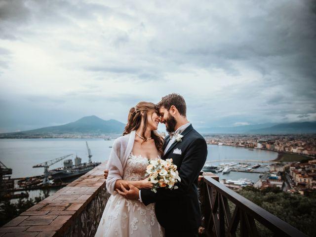 Il matrimonio di Stefano e Mariantonia a Castellammare di Stabia, Napoli 71