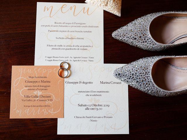 Il matrimonio di Giuseppe e Marina a Cassacco, Udine 7