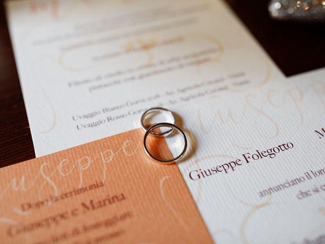 Il matrimonio di Giuseppe e Marina a Cassacco, Udine 8