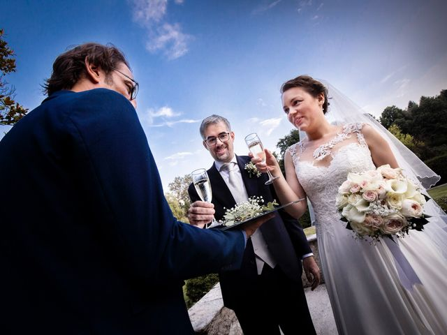 Il matrimonio di Marco e Francesca a Gallarate, Varese 34