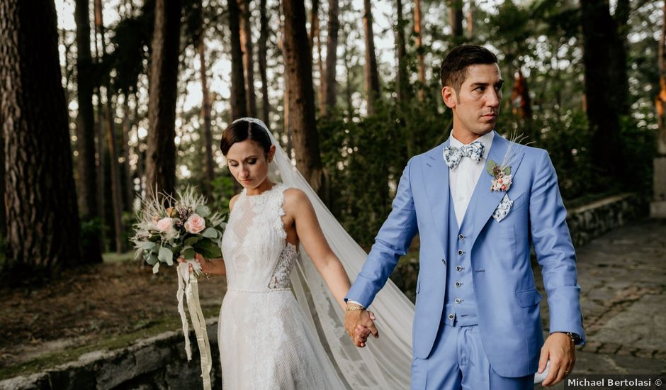 Il matrimonio di Francesco e Martina a Vergiate, Varese