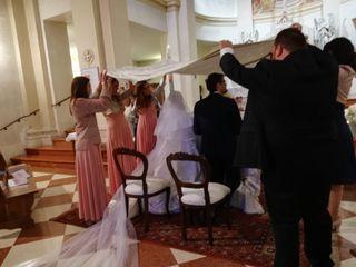 Le nozze di Fabio destro e Sara gottardo 3