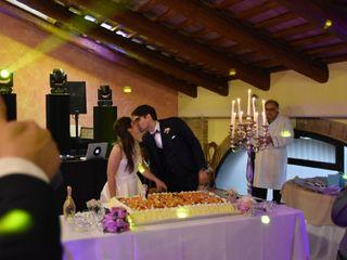 Le nozze di Fabio destro e Sara gottardo