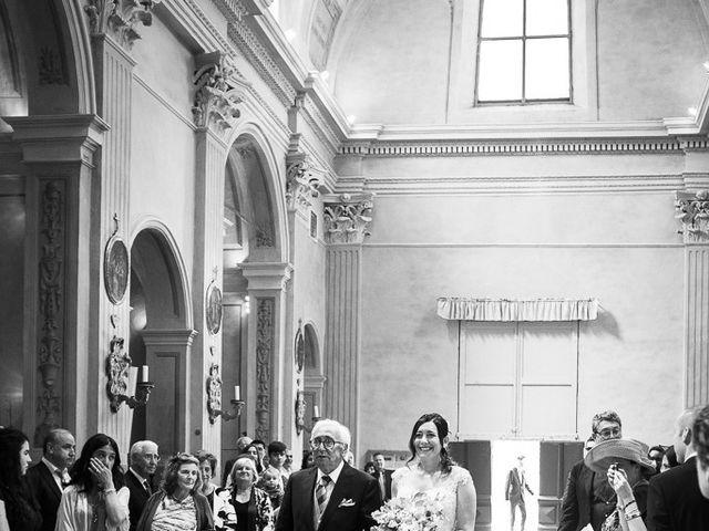 Il matrimonio di Denis e Maria a Quattro Castella, Reggio Emilia 17