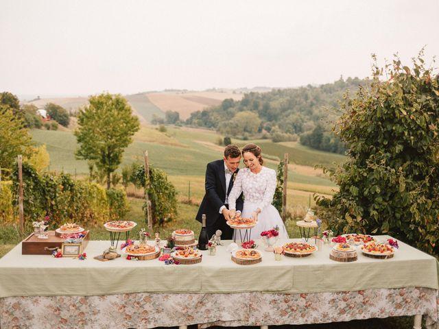 Il matrimonio di Fabio e Anna Clara a Lu, Alessandria 82