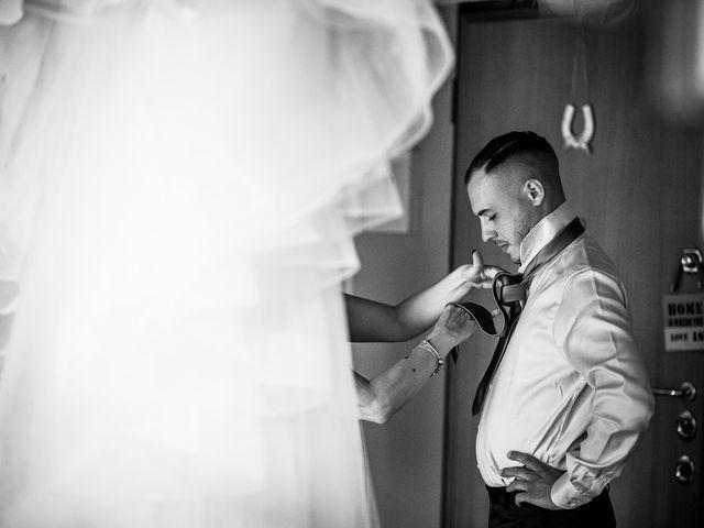 Il matrimonio di Daniele e Federica a Gaggiano, Milano 8