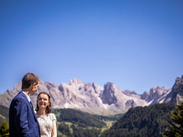 Il matrimonio di Evaldas e Indré a Santa Cristina Valgardena-St. Chris, Bolzano 20