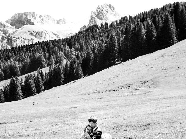 Il matrimonio di Evaldas e Indré a Santa Cristina Valgardena-St. Chris, Bolzano 24