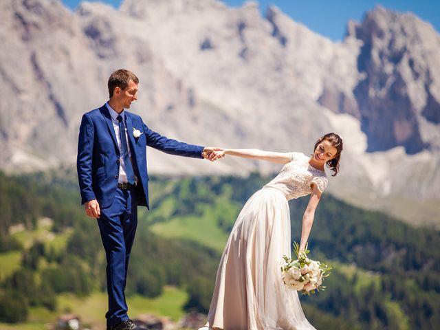 Il matrimonio di Evaldas e Indré a Santa Cristina Valgardena-St. Chris, Bolzano 2