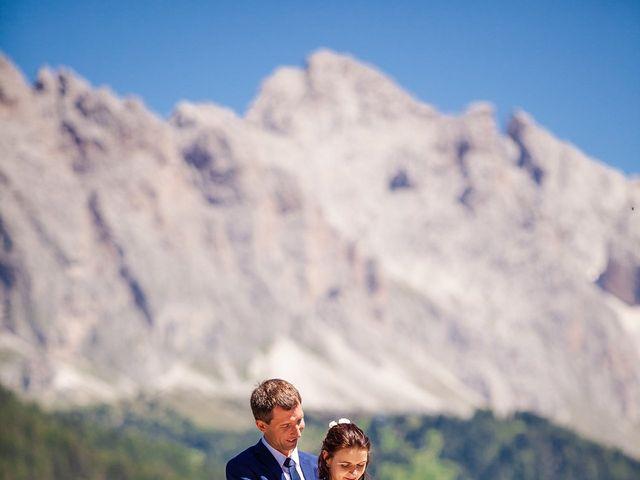 Il matrimonio di Evaldas e Indré a Santa Cristina Valgardena-St. Chris, Bolzano 38