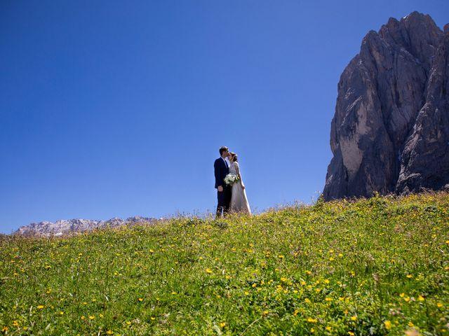Il matrimonio di Evaldas e Indré a Santa Cristina Valgardena-St. Chris, Bolzano 41