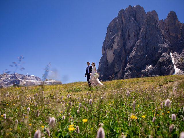 Il matrimonio di Evaldas e Indré a Santa Cristina Valgardena-St. Chris, Bolzano 44