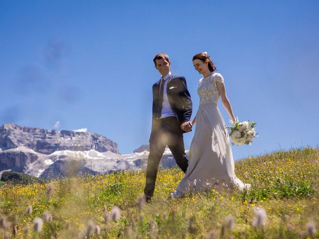 Il matrimonio di Evaldas e Indré a Santa Cristina Valgardena-St. Chris, Bolzano 45