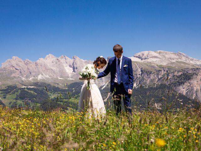 Il matrimonio di Evaldas e Indré a Santa Cristina Valgardena-St. Chris, Bolzano 46
