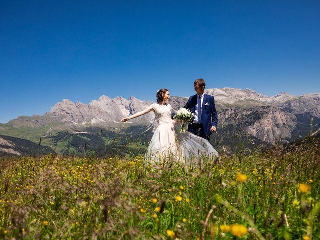 Il matrimonio di Evaldas e Indré a Santa Cristina Valgardena-St. Chris, Bolzano 47
