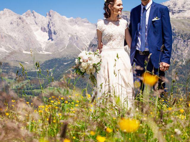 Il matrimonio di Evaldas e Indré a Santa Cristina Valgardena-St. Chris, Bolzano 49