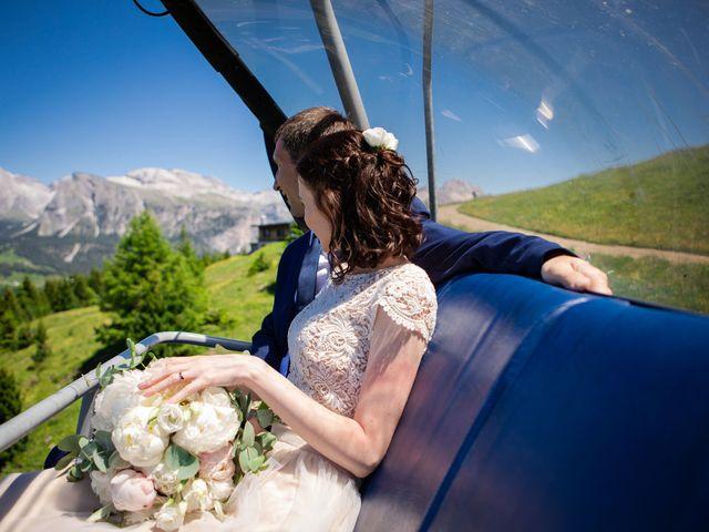 Il matrimonio di Evaldas e Indré a Santa Cristina Valgardena-St. Chris, Bolzano 51
