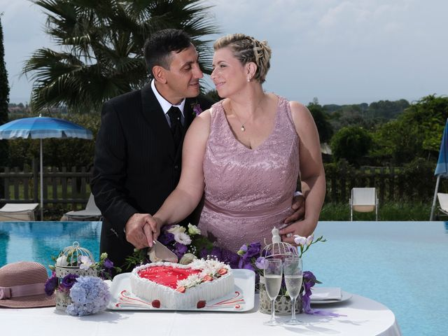Il matrimonio di Claudia e Mimmo a Anzio, Roma 34