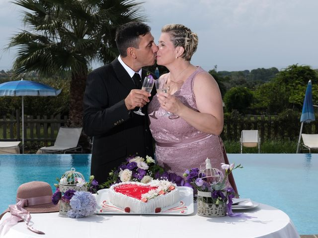 Il matrimonio di Claudia e Mimmo a Anzio, Roma 35