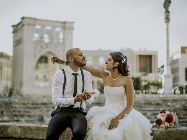 Il matrimonio di Joey e Erika a Lecce, Lecce 43