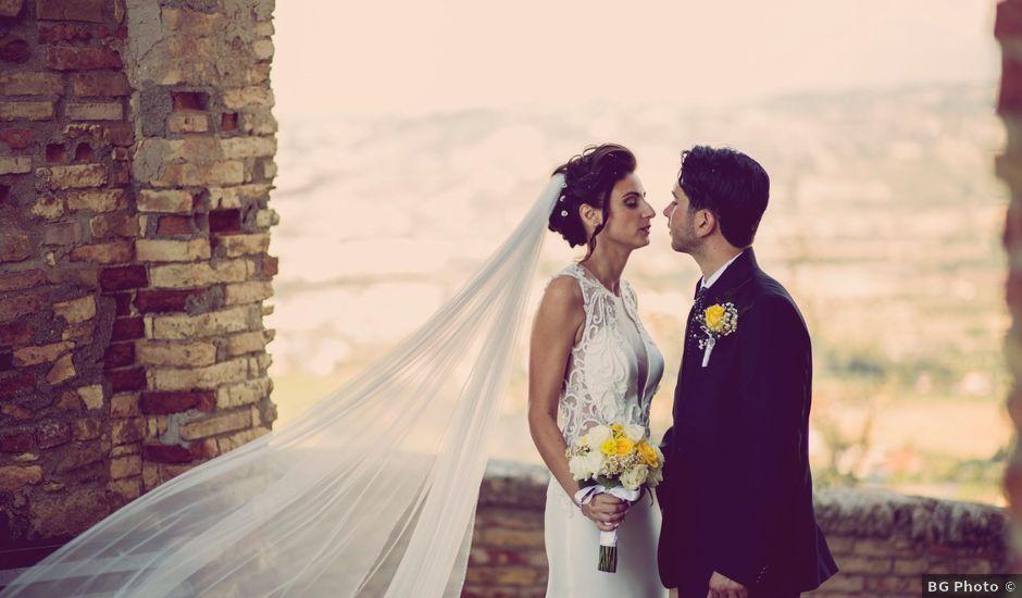 Il matrimonio di Emidio e Silvia a Roseto degli Abruzzi, Teramo