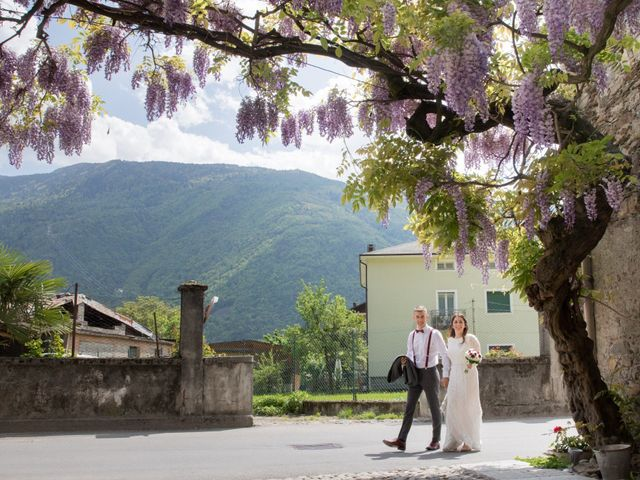 Il matrimonio di Stefano e Sara a Bormio, Sondrio 30