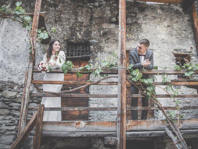 Il matrimonio di Stefano e Sara a Bormio, Sondrio 35