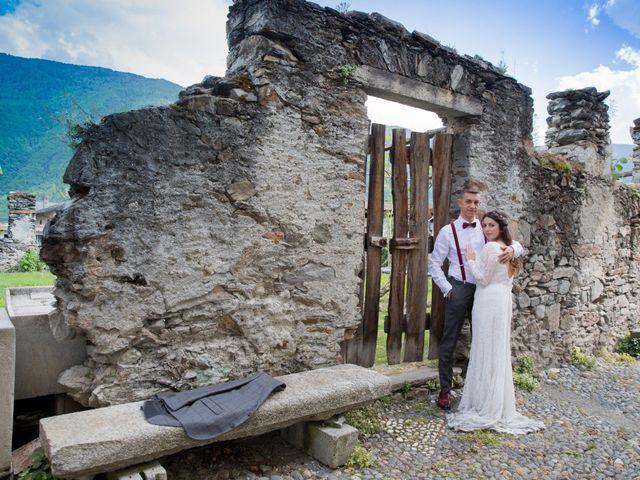 Il matrimonio di Stefano e Sara a Bormio, Sondrio 40