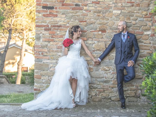 Il matrimonio di Gabriele e Giorgia a Tavullia, Pesaro - Urbino 9