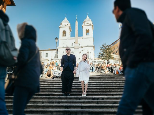 Il matrimonio di Ilias e Eleni a Roma, Roma 40