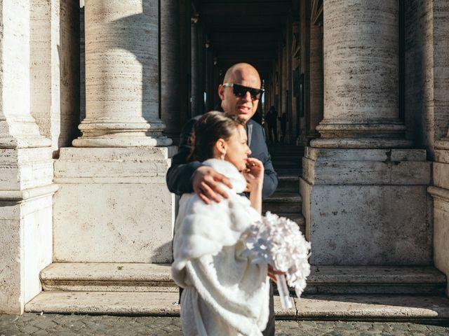 Il matrimonio di Ilias e Eleni a Roma, Roma 45