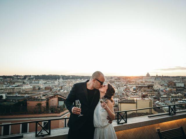 Il matrimonio di Ilias e Eleni a Roma, Roma 55