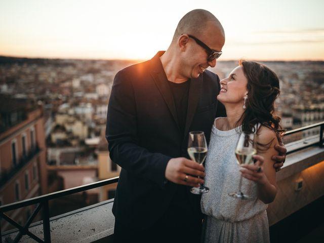 Il matrimonio di Ilias e Eleni a Roma, Roma 1