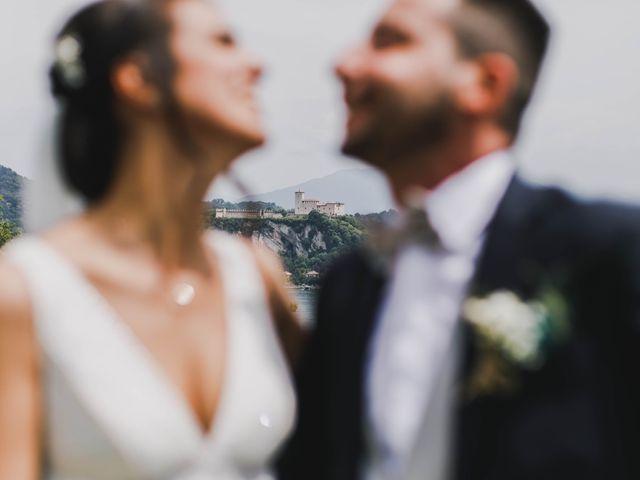 Il matrimonio di Simone e Manuela a Arona, Novara 73