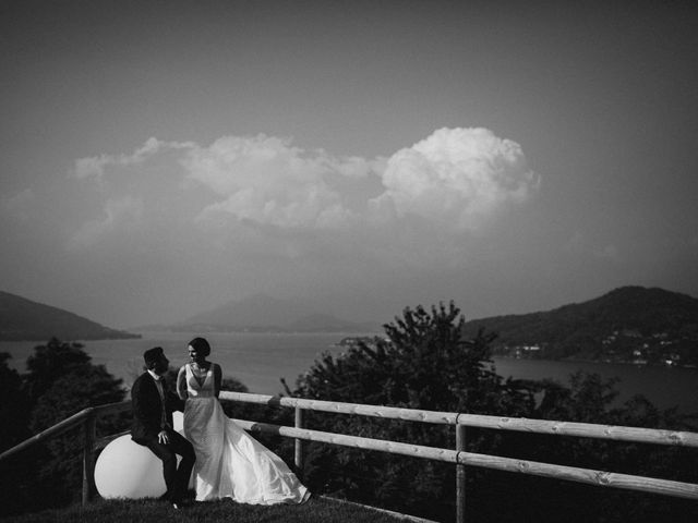 Il matrimonio di Simone e Manuela a Arona, Novara 153