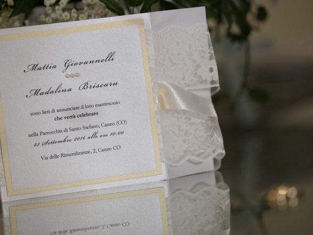 Il matrimonio di Mattia e Madalina a Canzo, Como 9