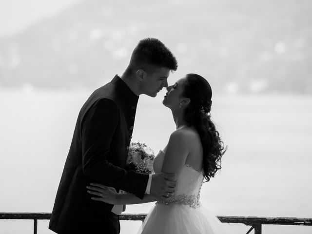 Il matrimonio di Mattia e Madalina a Canzo, Como 73
