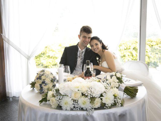 Il matrimonio di Mattia e Madalina a Canzo, Como 87