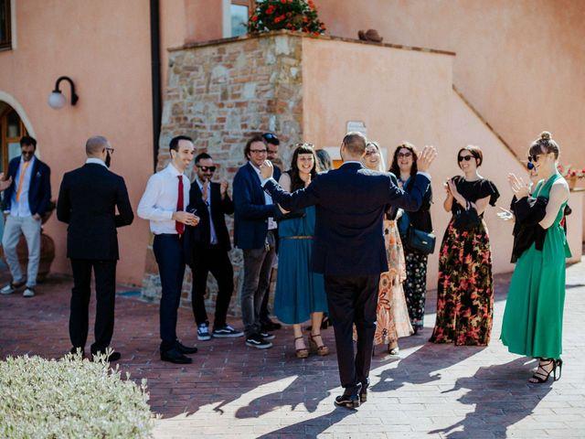 Il matrimonio di Mallery e Luca a Gambassi Terme, Firenze 20