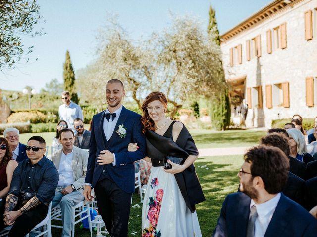 Il matrimonio di Mallery e Luca a Gambassi Terme, Firenze 23